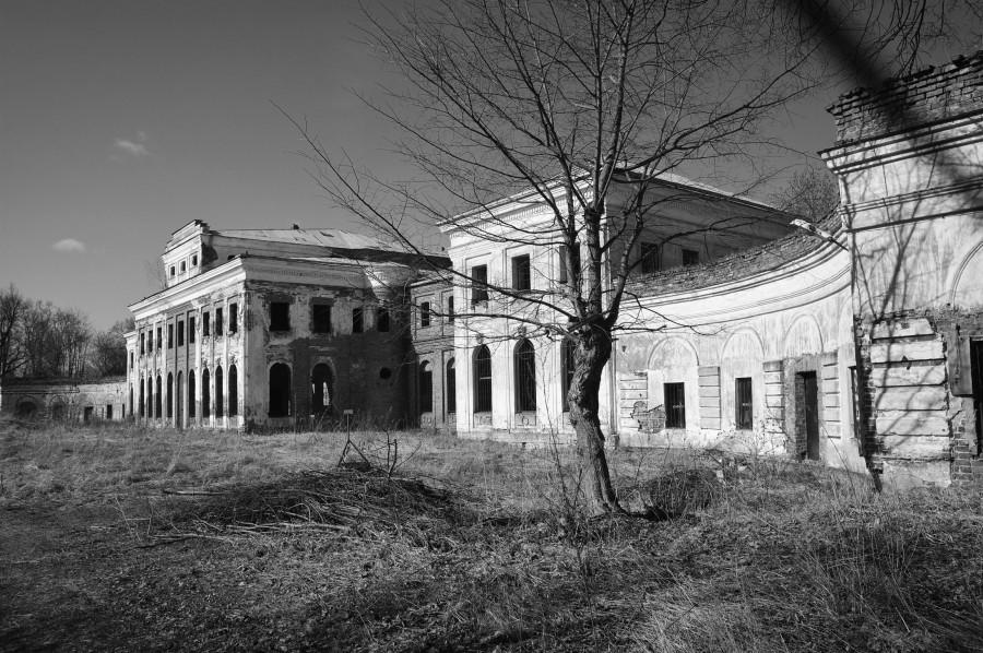 Село Ярополец: дворец мэра Москвы в XVIII веке.