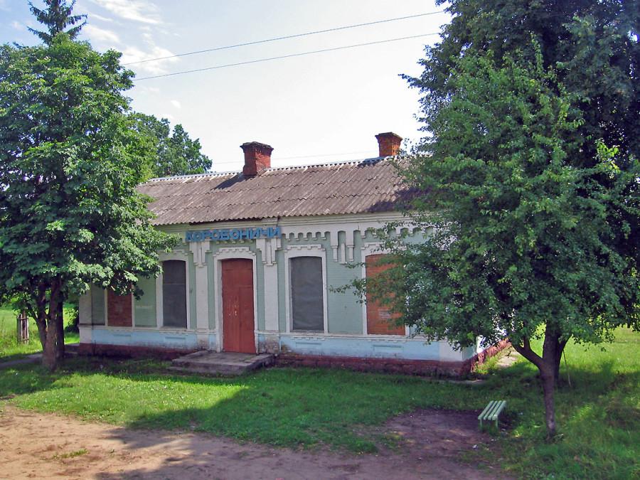 Брянская область из окна поезда: перегон Почеп-Клинцы.