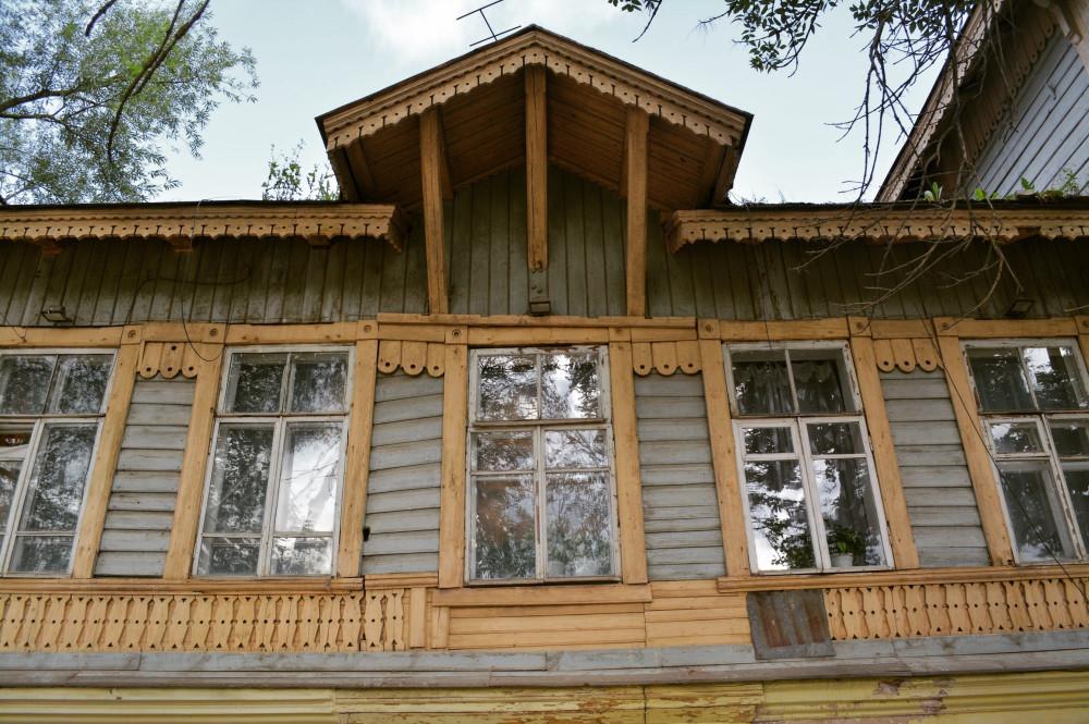 Деревянный Бежецк.