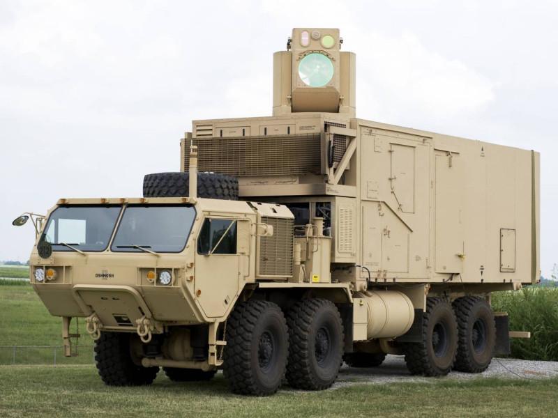 Лазерная установка HEL MD мощностью в 10 кВт.