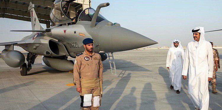 Истребитель Dassault Rafale, поставленный Катару.