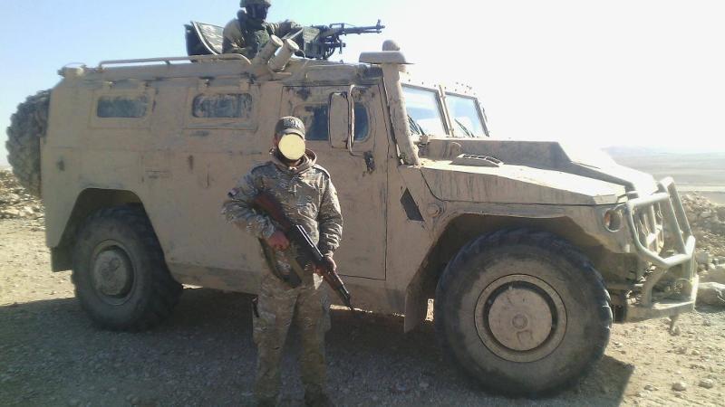 "Бронеавтомобиль ""Тигр"" в Сирии."