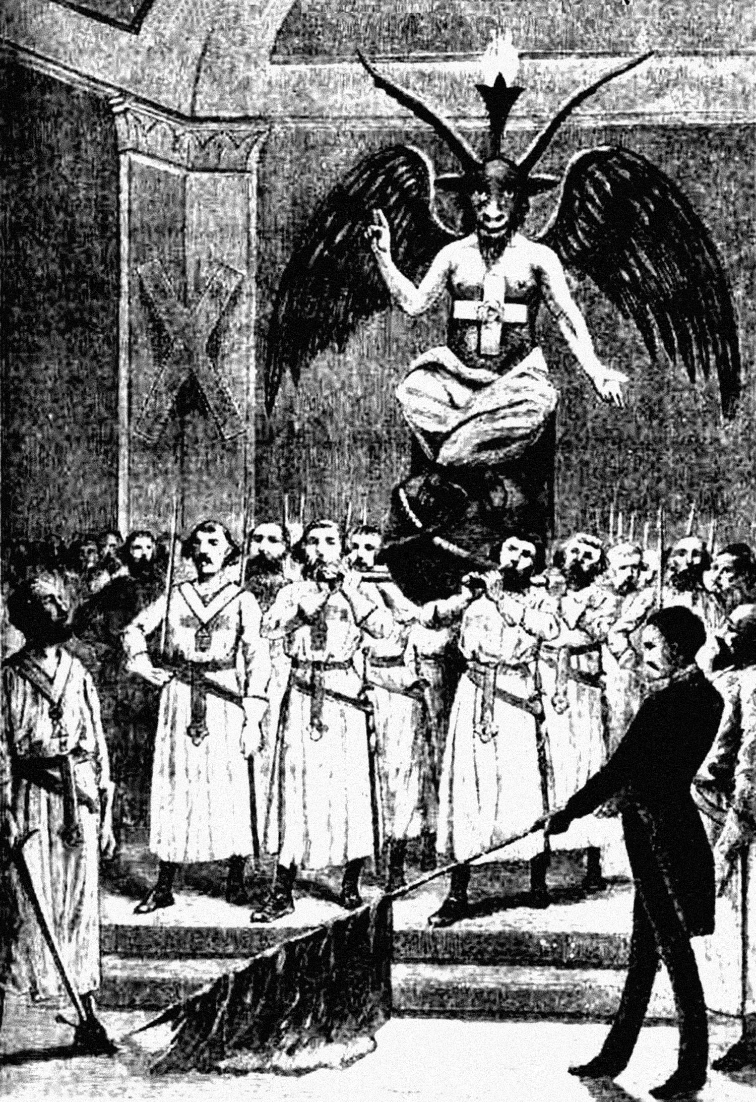 Масонский ритуал на основе ритуала ордена Тамплиеров.