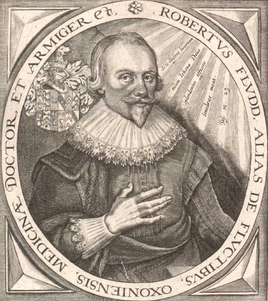 Роберт Фладд (1574 - 1637) - сраный бриташка, мистик и оккультист. Вполне возможно, что он также привлекался к разработке оккультных ритуалов и символики масонства.