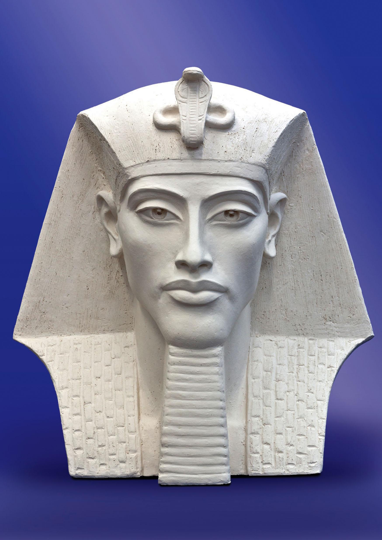 Эхнатон, египетский фараон, провозгласивший религию бога Атона официальной религией Египта.