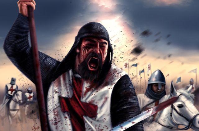 """Крестоносец - грабитель и вор, который грабил уже не просто так, а как """"представитель цивилизации"""" - католической западноевропейской цивилизации."""