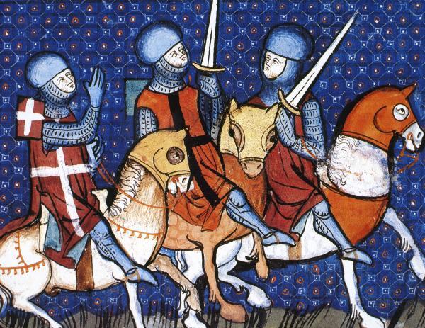 Крестоносцы идут на новый грабеж.