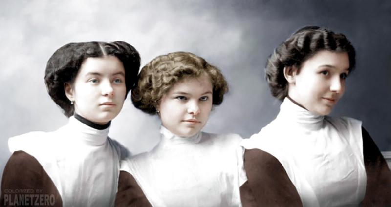 Русские курсистки, 1900-е годы.