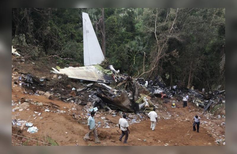 """Хвост разбившегося Боинга 737 Max """"Эфиопских авиалиний""""."""