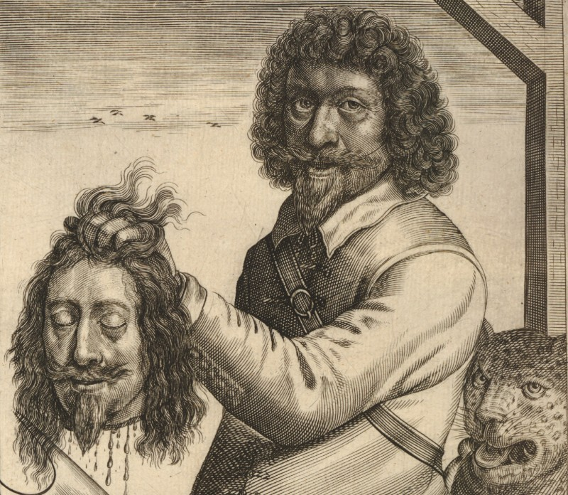 Голова Карла Первого после казни. Миру нужно покончить со Сраной Британией - примерно так же, как сами сраные бриташки когда-то покончили со своим королем.