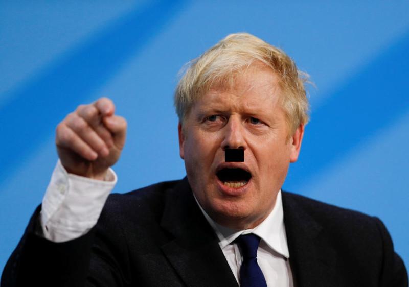 """Этого рыжего клоуна для того и сделали премьер-министром, чтобы он стал """"британским Гитлером"""" на время Брексита."""