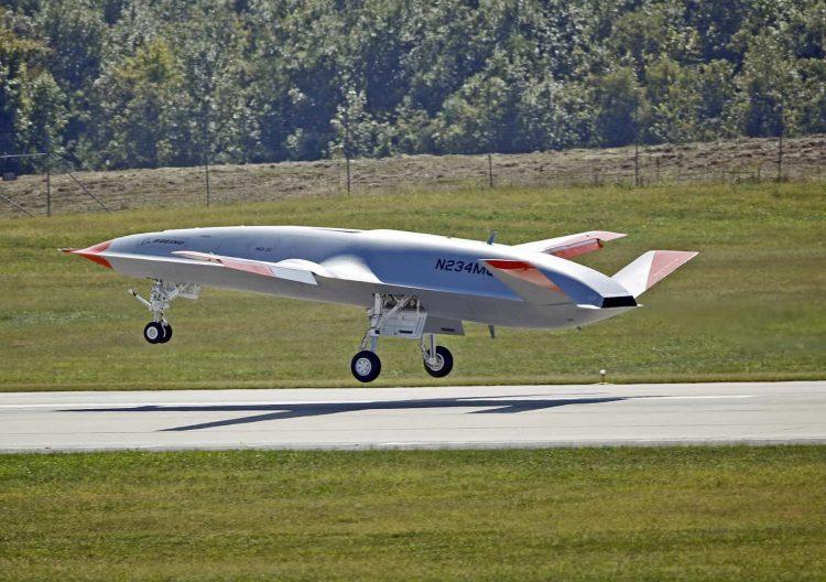 Очередное убожество тупых пиндосов - беспилотник MQ-25 Stingray.