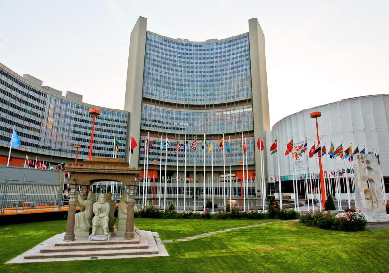 Штаб-квартира ООН в Вене (Венский международный центр ООН).