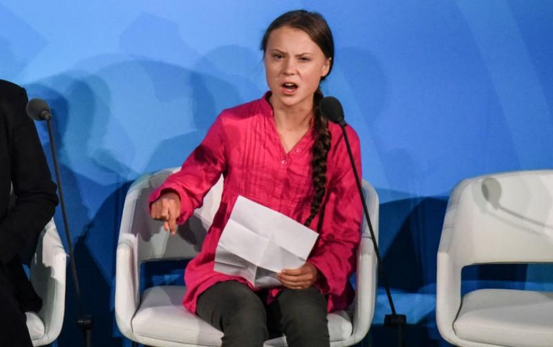 Так с миром разговаривает не только шведская девочка - так с миром разговаривает сегодня весь Запад.