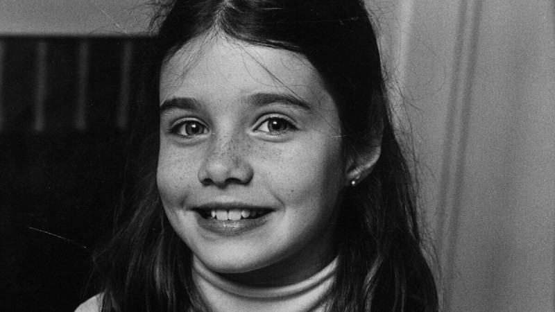 Саманта Смит, американская девочка, приезжавшая в СССР в 1983 году.