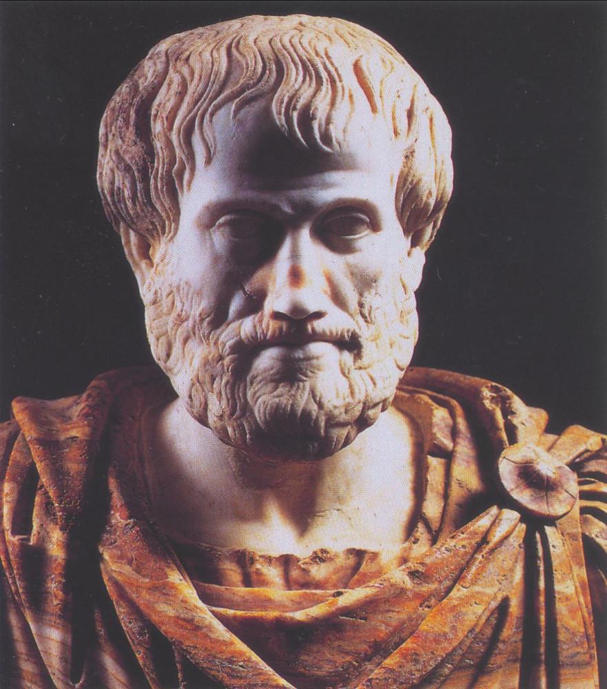 Аристотель. Один из тех, кто создал всю нашу цивилизацию. Он не придумывал машины, не завоевывал другие царства (хотя это сделал его ученик - Александр Македонский) и даже во многих своих научных взглядах он ошибался. Но он сделал нечто гораздо большее и гораздо более важное - своей философией Аристотель создал новый тип мышления, новое отношение к вещам и к бытию, и этот тип мышления и интеллектуальной культуры и лежит в основе всей современной цивилизации, так как даже европейские варвары со своим католицизмом не смогли его сильно исказить и извратить (хотя они очень старались).