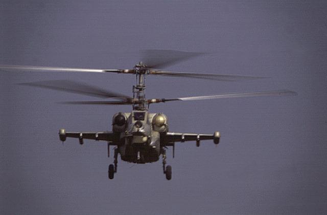 Русский боевой вертолет Ка-52. Лучший в мире. Перепутать его невозможно. Только одно его изображение вызывает у тупых пиндосов ужас и панику.