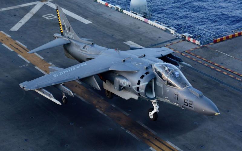 """AV-8B Harrier II. Очередное убожество """"инженерной мысли"""" тупых пиндосов 1970-х годов."""