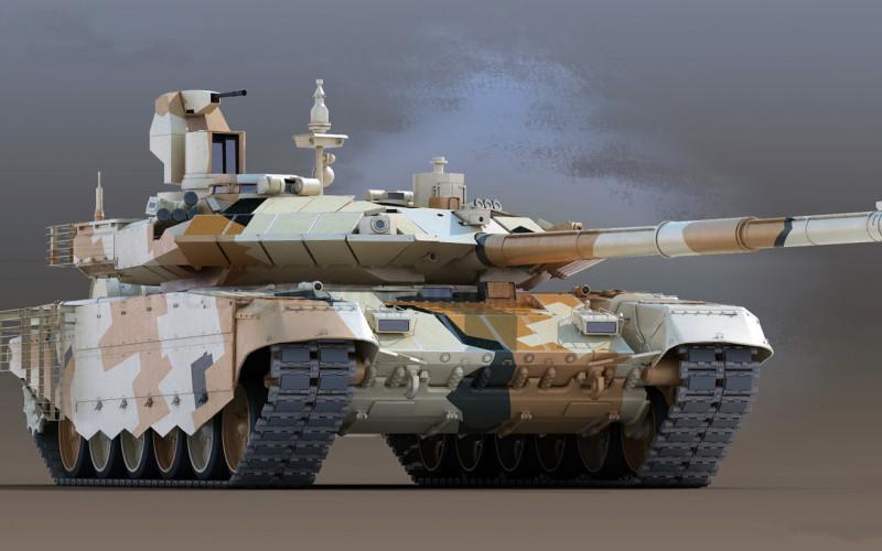 """Т-90М """"Прорыв""""."""