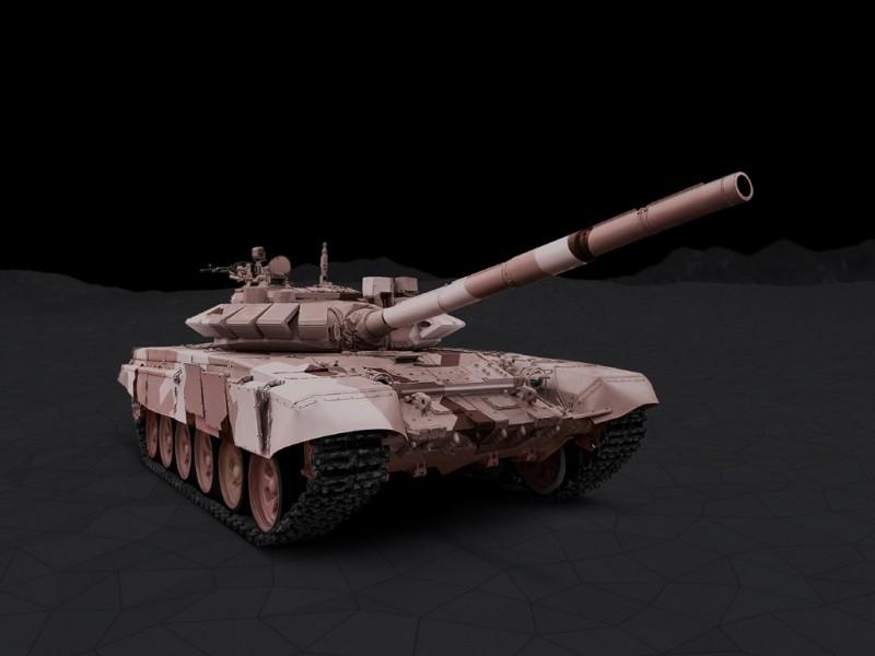 """Русский танк Т-72Б3 - новейшая модернизация T-72. Новая электроника и прицелы, усиленный двигатель и улучшенная пушка, боевой модуль с пулеметом """"Корд"""", динамическая броня """"Реликт"""" или """"Контакт"""" - все это позволило кратно увеличить боевую эффективность этих машин, превратив их в современные танки."""