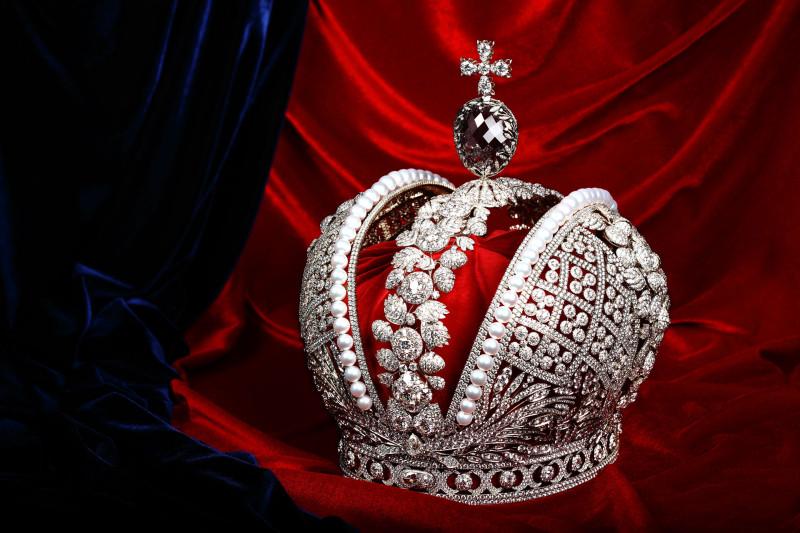 Корона Российской Империи. Изготовлена в 1762 году для Императрицы Екатерины Второй.