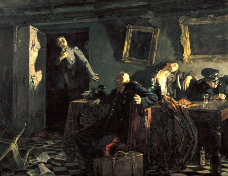Путин и его гебисты в новом бункере в ожидании неизбежного конца.