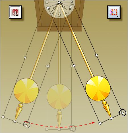 """Самым наглядным представлением того, как гравитация и инерция связаны с пространством и временем, могут служить часы с маятником. Колебания маятника происходят под действием только двух сил - гравитации и инерции. И в результате этого колебательного движения маятника в пространстве мы получаем наглядное представление о течении времени - как движение стрелки часов по циферблату. Но мы не видим никакой """"силы гравитации"""" и """"силы инерции"""" - мы видим движение в пространстве маятника и стрелки часов. Так вот, я утверждаю, что пространство и время - это то, как мы воспринимаем в нашем эмпирическом опыте (то есть в нашем сознании и разуме) объективную реальность, которую мы называем """"гравитацией"""" и """"инерцией"""". Пространство и время - это то, как """"гравитация"""" и """"инерция"""" (гравитационное поле) существуют в нашей эмпирической реальности. И существуют они для нас примерно так же, как для нас существует реальность """"вкуса яблока""""."""