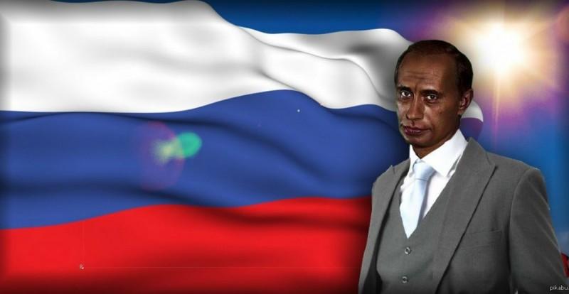 Путин — наш вождь! Вместе с ним мы смело движемся в Африку!