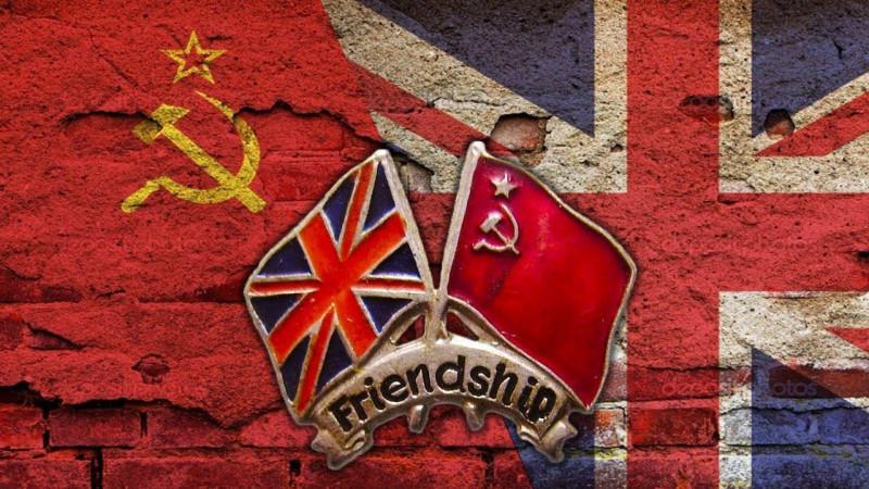 """Советские и британские — дружба на век! В истории Совдепии и советских спецслужб так много """"британских следов"""", что становится вполне очевидно, что просто """"дружбой"""" и """"симпатией"""" здесь дело не ограничивалось."""