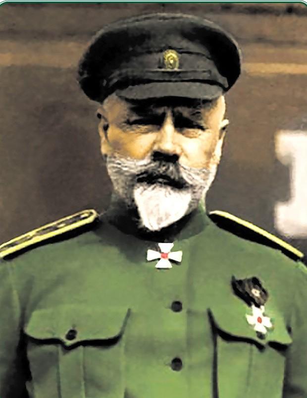 """Антон Иванович Деникин. """"Хм. Рано радуетесь, большевички! Мы, русские, еще обязательно придем за своим""""."""