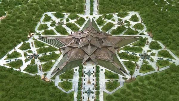 Проект музея Вооруженных сил РФ от Шойгу и советских дегенератов из Минобры Эрэфии.