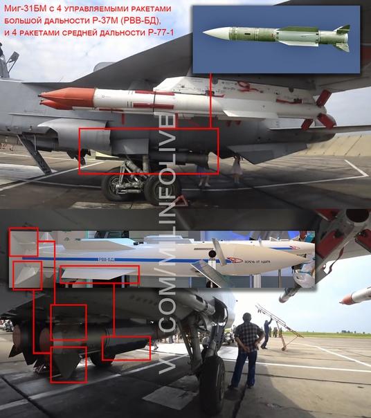 Сравнение ракеты, появившейся на фото под крылом истребителя Миг-31, с ракетой Р-37, ранее демонстрировавшейся на выставках, не оставляет никаких сомнений, что это та самая ракета Р-37.