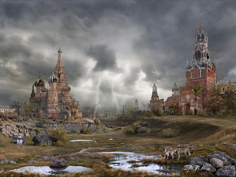 Москва-Похорошелла. Это то, чего заслуживает поганая Москва. Ее сожжение в 1812 году было Промыслом Божьим, но Александр Первый этого, к сожалению, не понял, и зачем-то отстроил этот проклятый город заново — на погибель всей России.