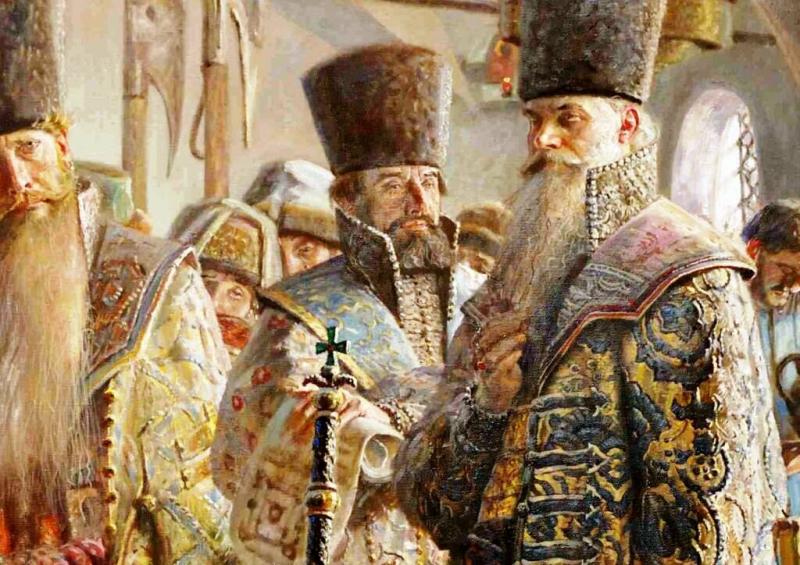 Для московских бояр их бороды стали последним прибежищем и напоминанием об их былой родовой аристократической чести и достоинстве, растоптанной московским самодержавием в грязь и пыль.