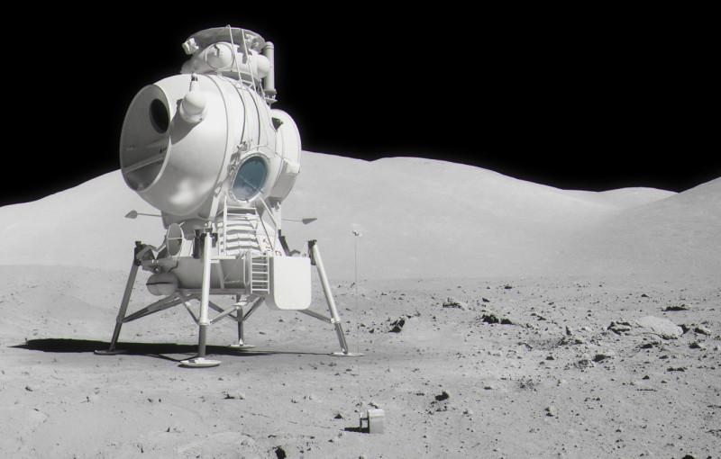 Советский лунный модуль, который должен был доставить наших космонавтов на Луну. В отличие от бутафории тупых пиндосов, его действительно предполагалось отправить на Луну.
