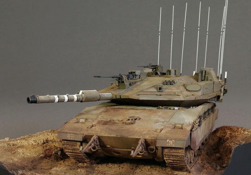Сраильский «Меркава» Mk.4. - самый идиотский танк в мире.