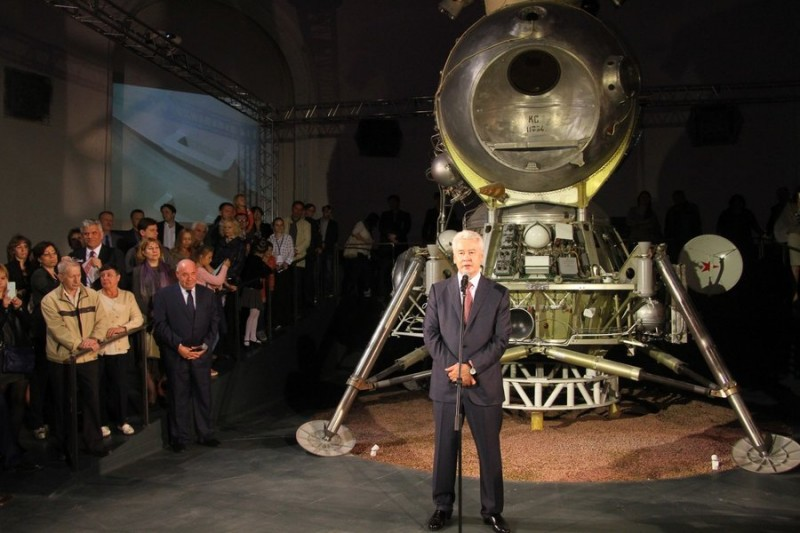 Советский лунный модуль ЛК-3.