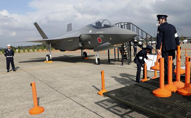 """F-35 ВВС Японии. """"Сделано с умом"""" - специально для японских камикадзе."""