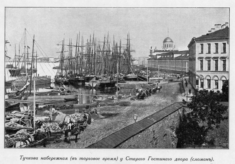 Тучков буян в 19 веке.