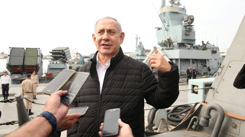 """Ушастый Биби, вожак всех сраильских обезьян, рассказывает еврейские сказочки о новом """"эффективном"""" сраильском оружии."""