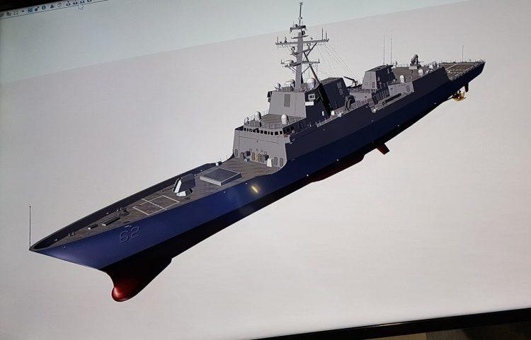 Проект фрегата тупых пиндосов от General Dynamics.