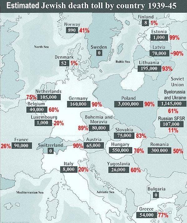 Карта Холокоста. Это был первый по-настоящему общеевропейский проект, в котором приняли участие почти все страны Европы. И проект вполне успешный.