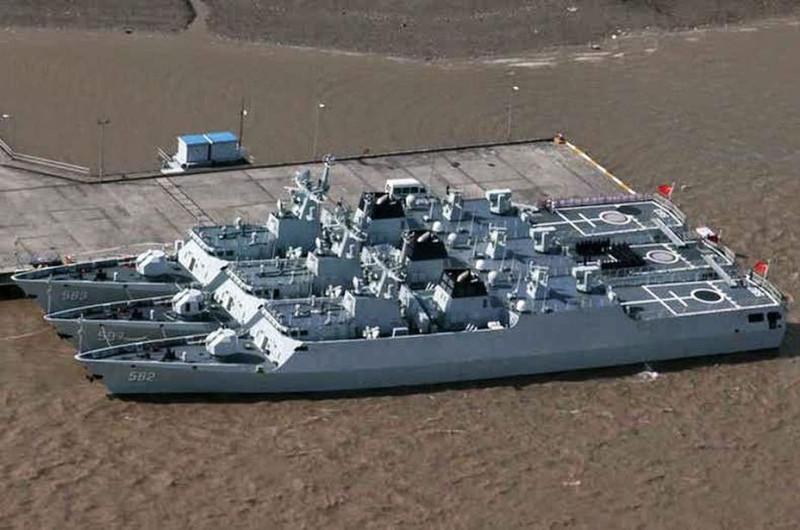 Китайские корветы проекта Тип 056.