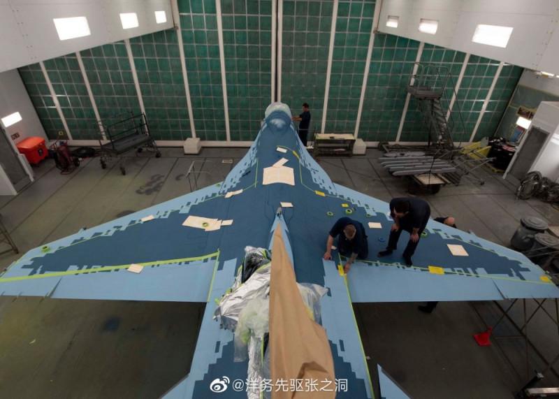Заокеанские ублюдки красят под Су-57 свой убогий F-16C.