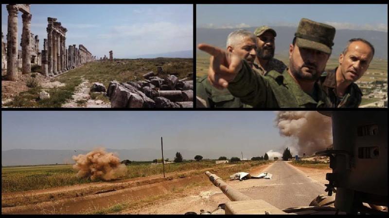 Армия Сирии при поддержке русской авиации и иранских подразделений крошит террористов в Сирии.