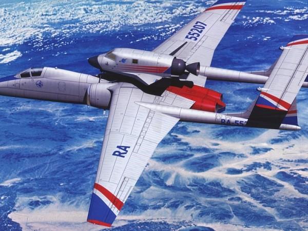 Проект использования M-55 в качестве носителя небольшого космоплана.