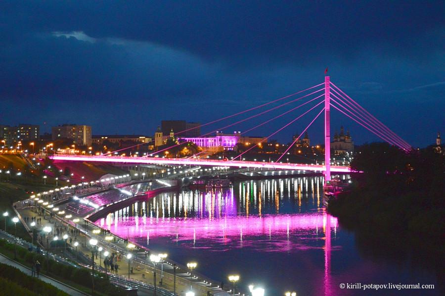тюмень мост влюблённых фото