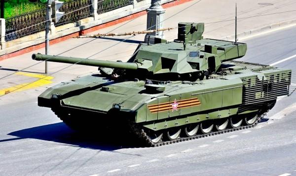 Новый танк-робот