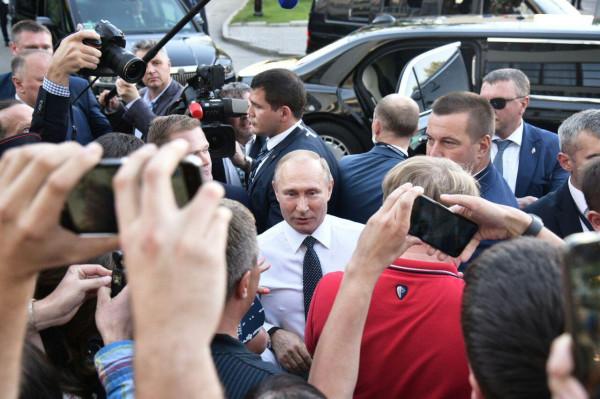 Реакция молодежи после встречи с Путиным