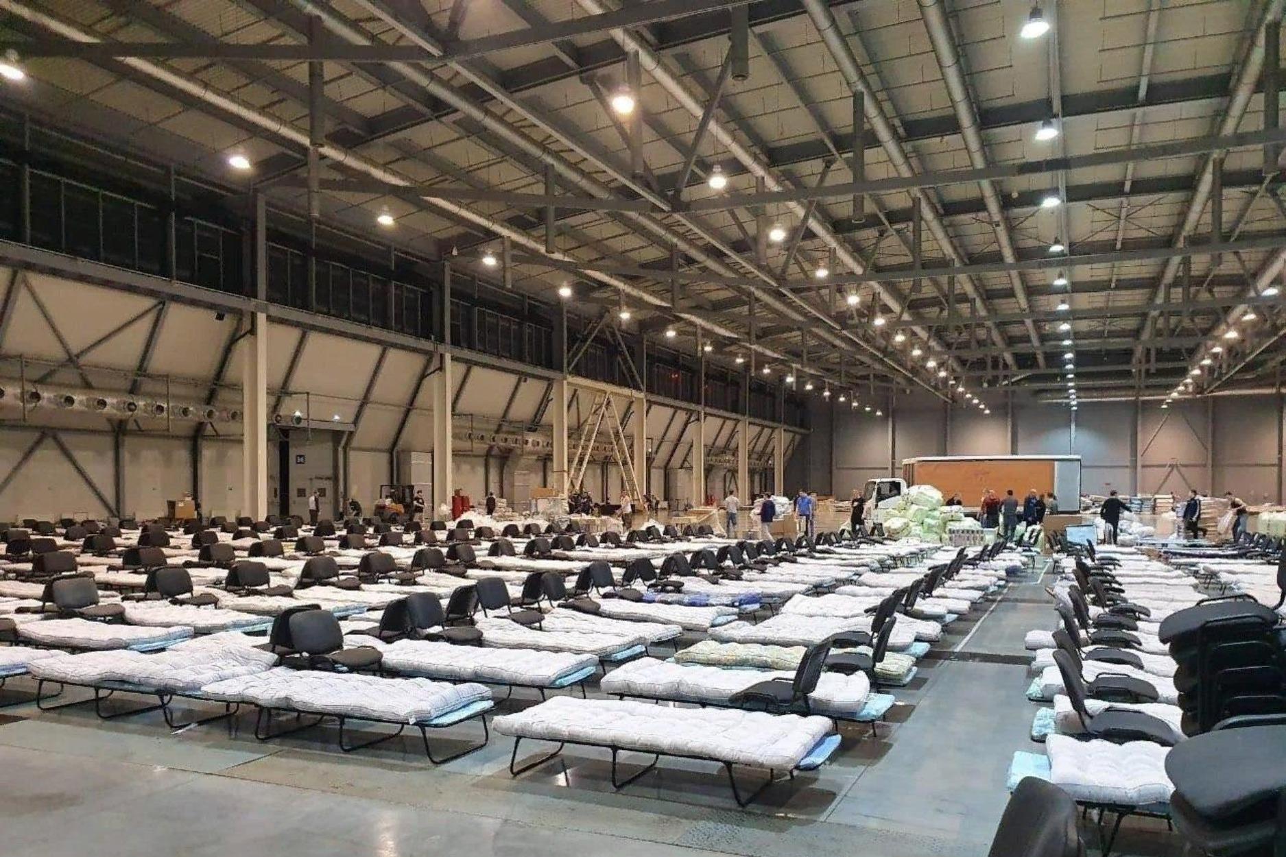 Так выглядит первый мобильный госпиталь в Екатеринбурге